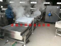 黄花菜杀青蒸煮机 洋葱蒸煮线 中药材蒸煮机