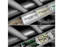 不锈钢加厚管链运输机 经济环保持久耐用管链输送机y9