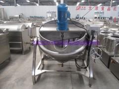 JCG型304钢可倾式夹层锅,保温夹层锅