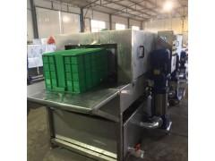 供应高压喷淋洗筐机 周转箱清洗机 连续式托盘清洗设备