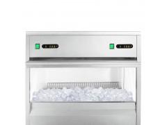 麦艾仕 商用制冰机奶茶店酒吧餐厅KTV双系统大型圆柱形冰块机