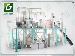 玉米糁加工成套设备 玉米碴成套加工机器