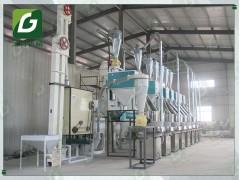 玉米渣生产流水线 玉米磕糁磨碴制粉加工机组