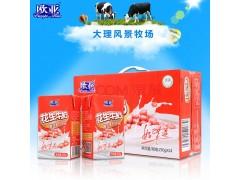 欧亚花生牛奶_复合蛋白健康牛奶