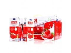 欧亚草莓果乳酸奶