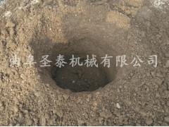 小挖坑机 种植挖坑机 挖坑立杆机 铲车电线杆挖坑机
