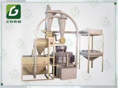 全自动玉米面粉碎机 玉米碎面加工机械 玉米碾粉机
