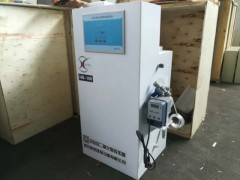门诊污水处理消毒剂制备方法及设备