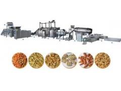 咪咪虾条、大蟹酥油炸食品机械