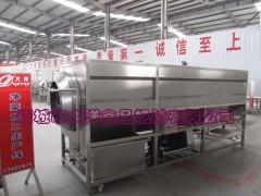 循环水蚕豆清洗机 大洋滚筒式姜芽清洗设备