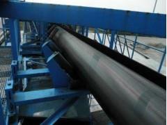 密封管带长距离输送机  管状式胶带传送机