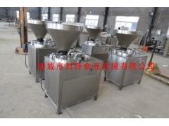 香肠灌制液压灌肠机 商用灌肠机 电动液压灌肠机