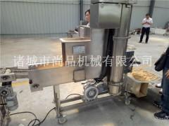 面包虾仁浸浆机 裹糠机 油炸机