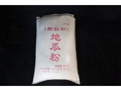 地瓜粉 红薯淀粉 勾芡调味的佳品25KG