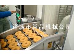 甜甜圈浸油式油炸机 自动入料出料