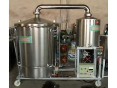 300型电气煤三用生料酿酒机烧酒设备