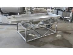 平板筛选机 板式振动筛  利特果蔬振动沥水机