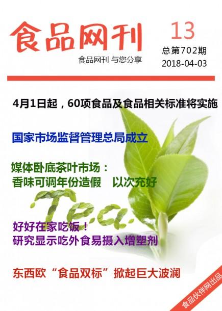 食品网刊2018年第702期