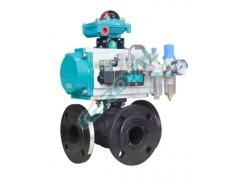 电气动330L/T高压三通球阀