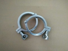 卫生级不锈钢精铸卡箍
