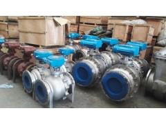 气动不锈钢球阀生产厂家DN50不锈钢气动法兰球阀厂家