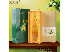 吴大厨山茶油250ml 原香原味农家茶籽油聪明油礼盒装