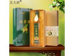 吴大厨山茶油 500ml食用油老年长寿油茶油礼盒装