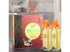 吴大厨山茶油礼盒500mlx2食用茶籽油孕妇宝宝月子油
