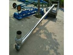 匀速上料不锈钢绞龙 304材质化工原料提升机