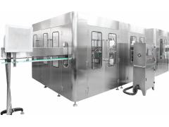 全自动高效三合一纯净水灌装机械