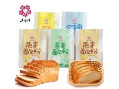 五朵梅杂粮面包粉,麦麸含量高达15%,以健康引导市场