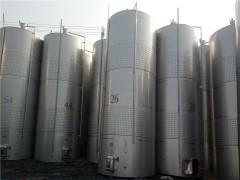 二手40立方葡萄酒发酵罐价格低