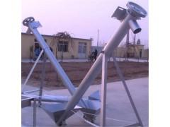 带支架螺旋上料机 管式提升机  倾斜送料绞龙