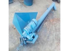石灰粉螺杆式提升机  锯末用铁管式绞龙