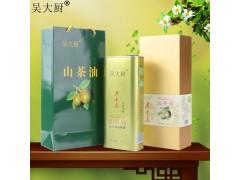吴大厨山茶油 1.6L礼盒茶油孕妇宝宝食用油月子油