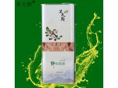 吴大厨山茶油1.6L茶油东方橄榄油食用油月子油