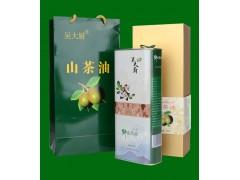 吴大厨山茶油1.6l野生茶油物理压榨茶籽油礼盒装