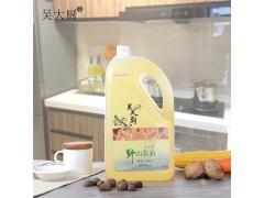 吴大厨野生山茶油5L食用油孕妇宝宝月子油茶油