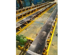 石料用固度高度上料皮带机  水平伸缩式输送机