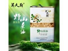 吴大厨山茶油3j物理压榨茶籽油食用油月子油