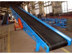 可调高型输送机 蒜台装车输送机 槽钢皮带式运输机