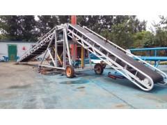 出库装车自动运输机  卸货用升降皮带机