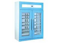 带锁的2-8℃医用冰箱