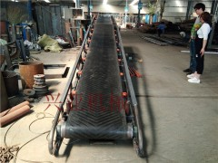 供应纸箱装车平行托辊皮带输送机 双向不等电动升降皮带机