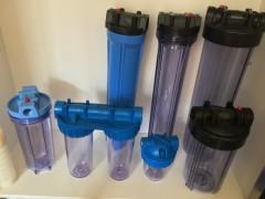 10寸4分6分1寸铜口自来水透明过滤器PP棉单级净水器