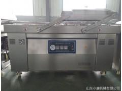 山东小康供应包装机械 双工作室左右摆盖真空封口包装机