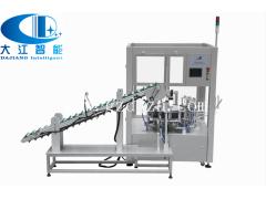 广州大江全自动半自动圆盘式装盒机