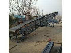 楼层爬坡上货移动皮带机  工厂运货输送机
