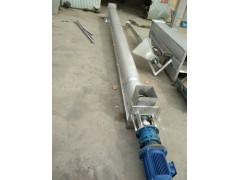 u型管螺旋输送机价格   非标螺旋式开口上料机