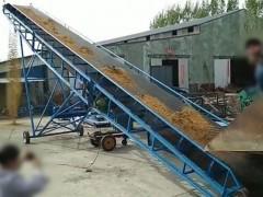 供应自动输送机 新型移动式矿山输送机 砂石开采皮带式输送机